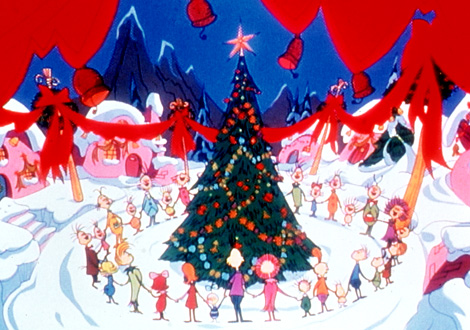 How the Grinch Stole Christmas courtesy Cartoon Network